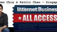 Top Internet Marketing Guru- Ewen Chia and Patric Chan will be teaching internet business live together in Singapore on 24th- 25th September 2011-Internet Business Live 2 Seminar. Unlike many internet...